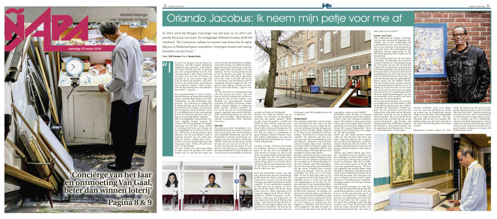 Interview Orlando Jacobus