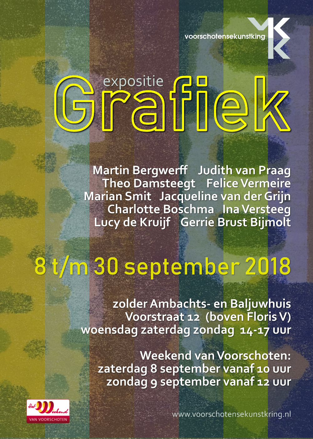 Grafiek expositie september 2018