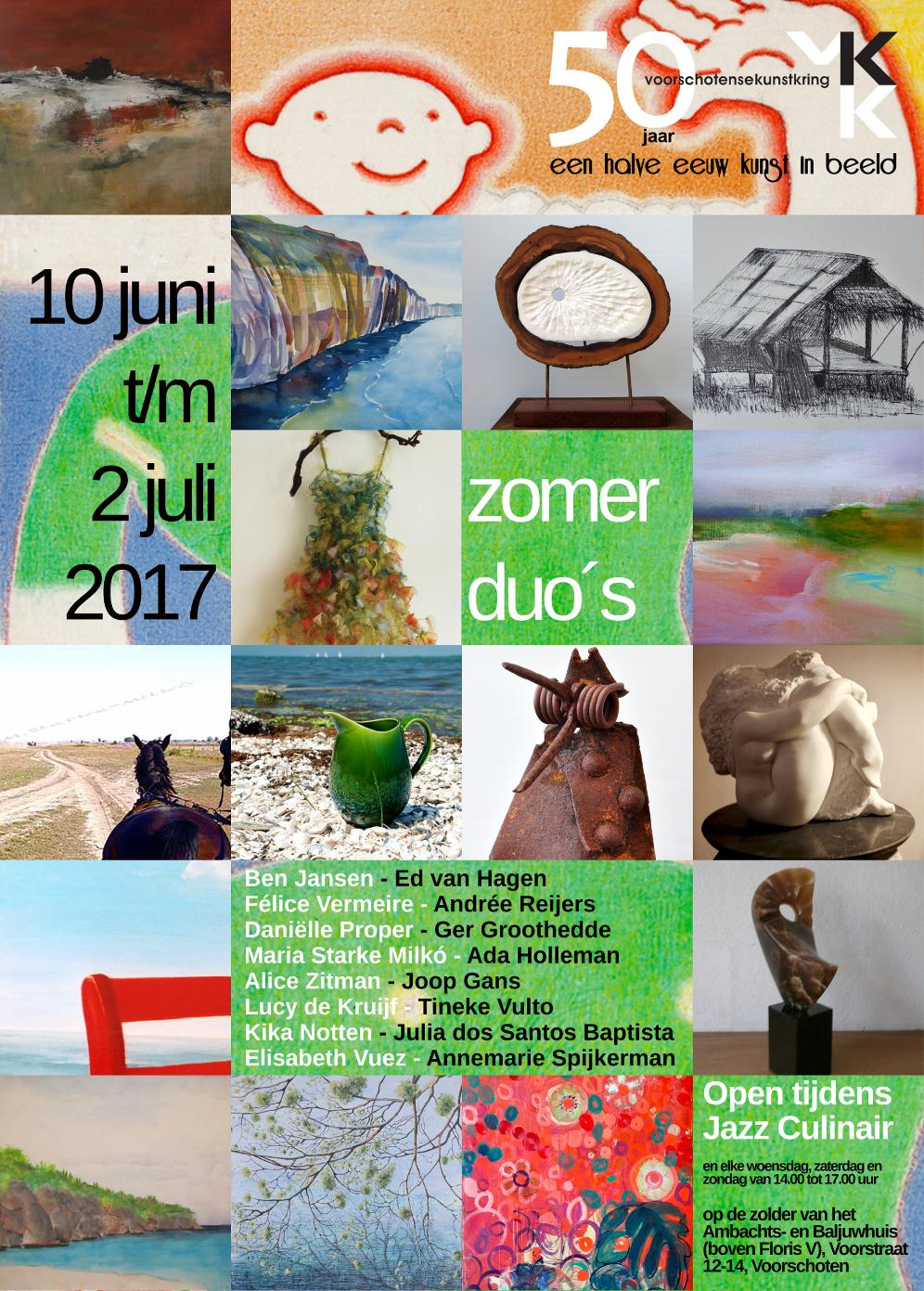 VKK presenteert Zomerduo's