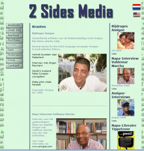 Eerste site 2 Sides Media
