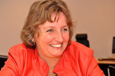 Minister Liesbeth Spies