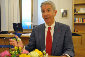 Minister Ronald Plasterk (foto Suzanne Koelega)
