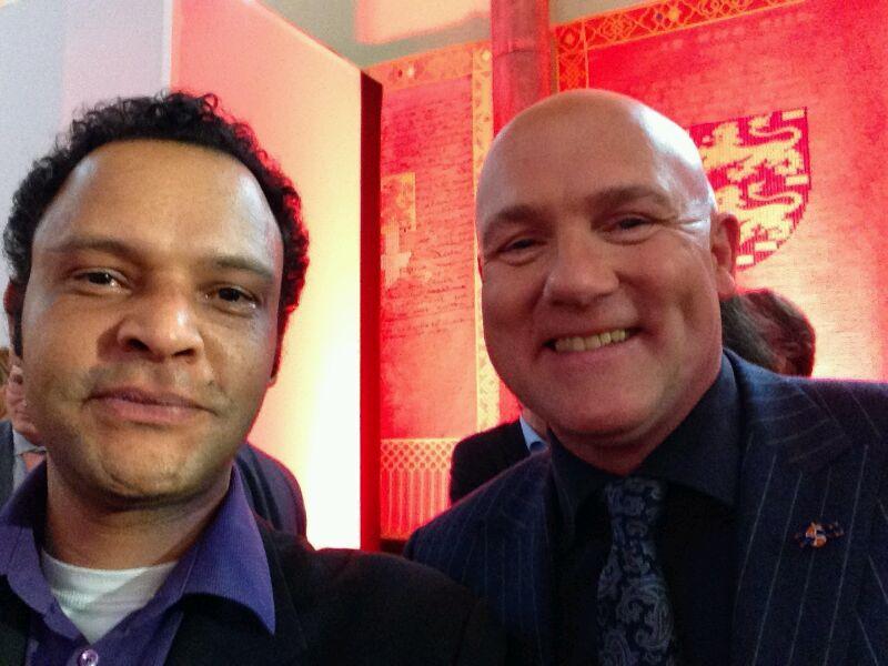 Selfie met André Kuipers