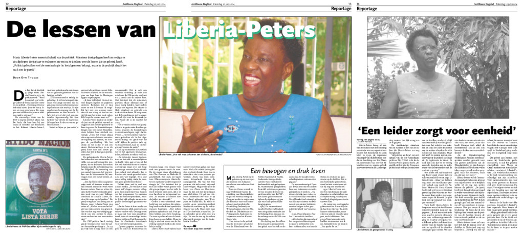 Interview Liberia Peters