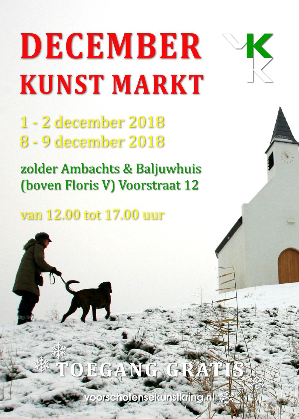 Kerstkunstmarkt 2018