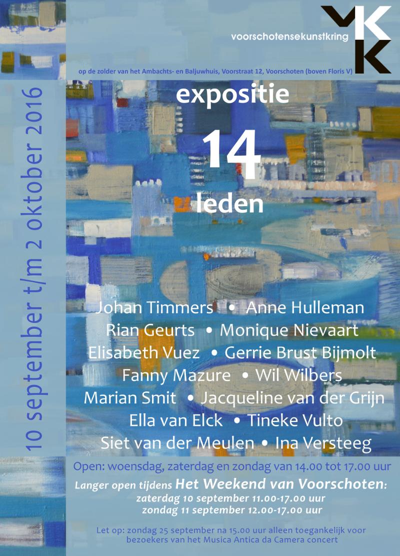 VKK-expositie september 2016