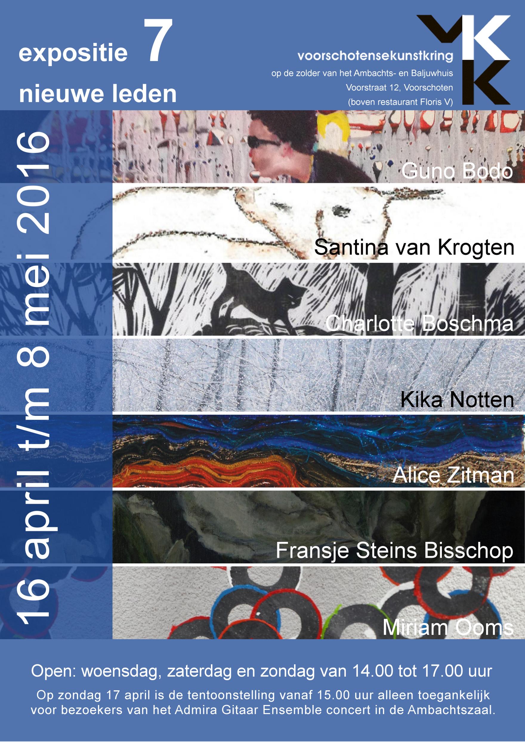 VKK-expositie april 2016